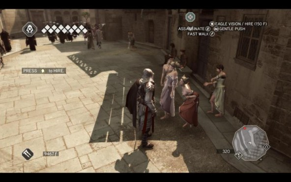 Actionspiel Assassin's Creed 2: Huren