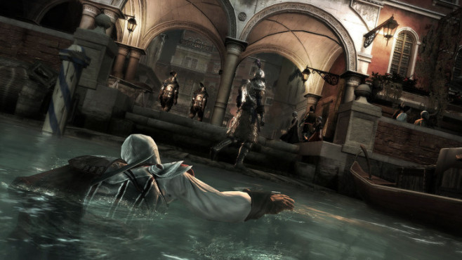 Actionspiel Assassin's Creed 2: Schwimmen