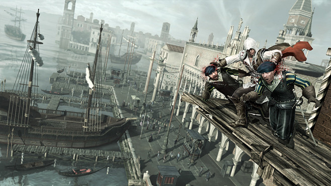 Actionspiel Assassin's Creed 2: Wachen