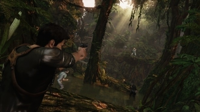 Actionspiel Uncharted 2 – Among Thieves: Schießerei