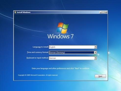 So bringen Sie Windows 7 auf den USB-Stick Installation von Windows 7 ©COMPUTER BILD