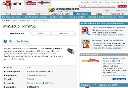 Windows 7 auf Netbooks: Software ©COMPUTER BILD