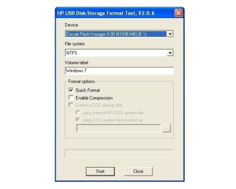 Windows 7 auf Netbooks: Stick formatieren ©COMPUTER BILD