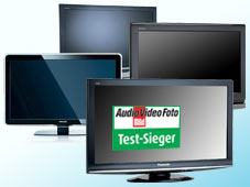 lcd und plasma tv testsieger flachbildfernseher 2009. Black Bedroom Furniture Sets. Home Design Ideas