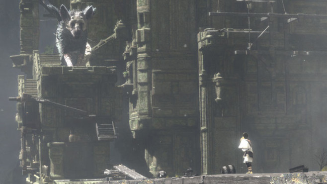 Actionspiel The Last Guardian: Junge © Sony