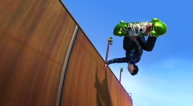 Sportspiel Tony Hawk – Ride: Rampe