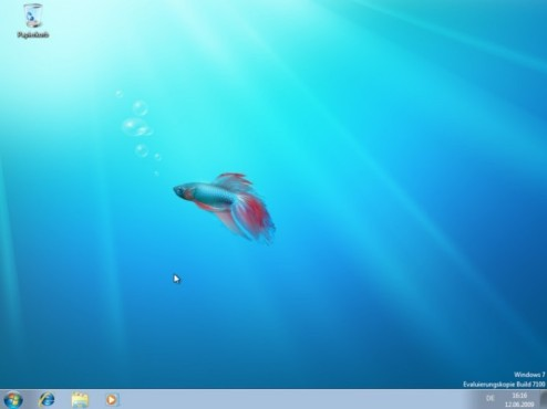 Windows 7 Installation: Fertig