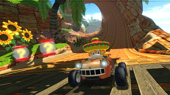 Rennspiel Sonic &Sega All-Stars Racing: Amigo