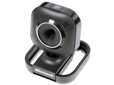 Webcam: Microsofts LifeCam VX-2000