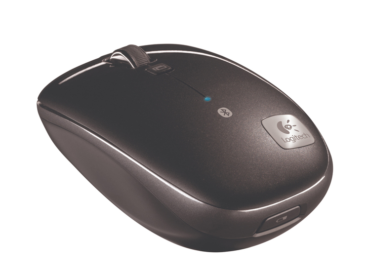 logitech bluetooth maus m555b computer bild. Black Bedroom Furniture Sets. Home Design Ideas