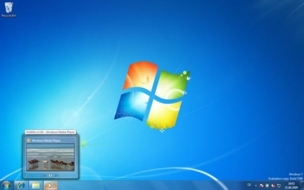 Windows 7: Video-Vorschau