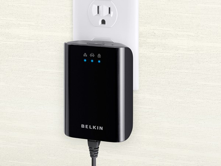 belkin powerline dlan mit mbit s computer bild. Black Bedroom Furniture Sets. Home Design Ideas