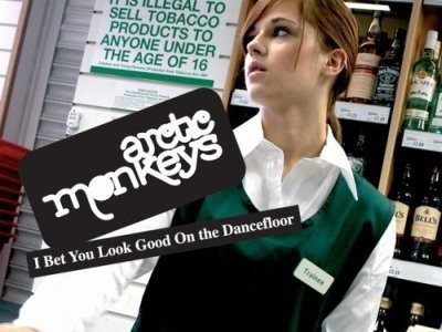 CD-Cover: Arctic Monkeys – I Bet You Look Good on the Dancefloor