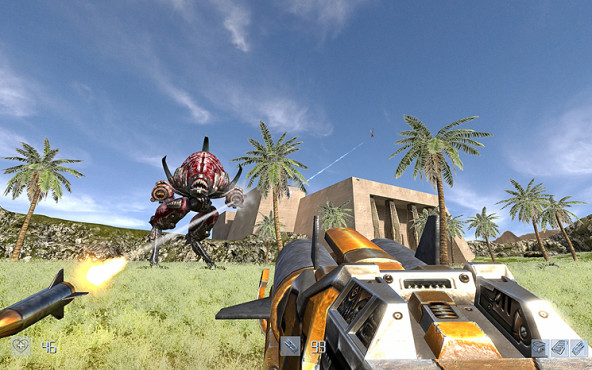 Actionspiel Serious Sam HD: Walker