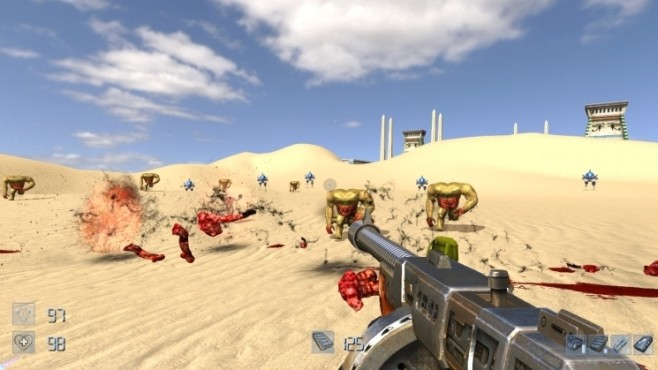 Actionspiel Serious Sam HD: Wüste