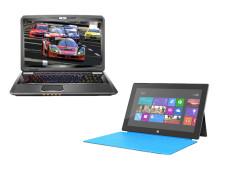 Notebook-Kaufberatung ©MSI, Microsoft