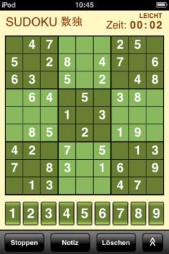 10 tolle iPhone-Spiele zum Nulltarif Sudoku: Zahlenrätsel ©10 tolle iPhone-Spiele zum Nulltarif Sudoku: Zahlenrätsel