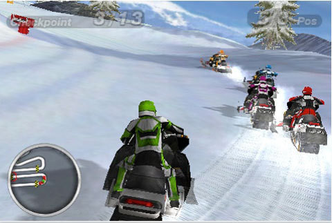 Snow Moto Racing lite © Snow Moto Racing lite