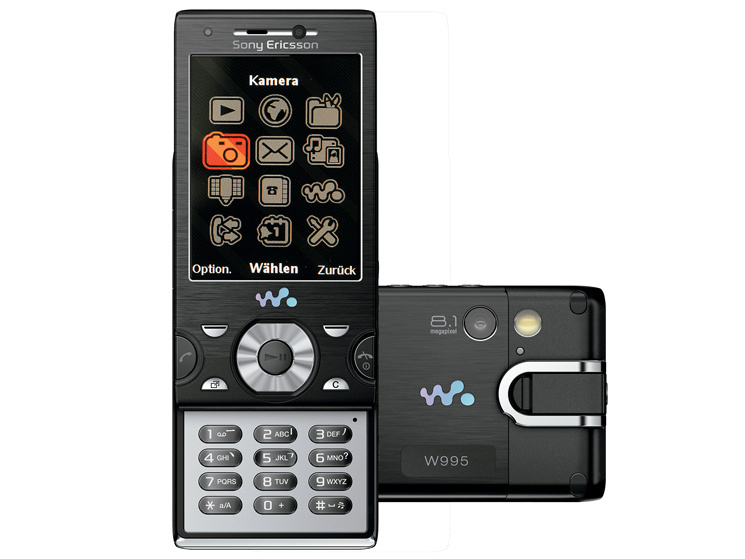 Test: Handy Sony Ericsson W995