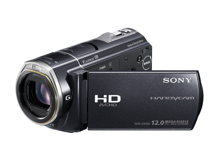 Sony Hdr Cx505ve Camcorder Mit Full Hd Audio Video Foto