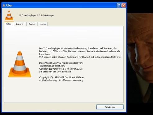 VLC Media Player: Info