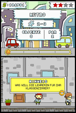 Knobelspiel Scribblenauts: Puzzle-Level