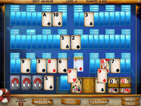 Download-Spiel der Woche: Mystery Solitaire – Secret Island © Intenium