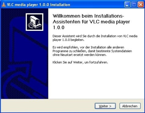 VLC Media Player: Assistent