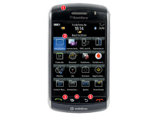 Handy: Blackberry Storm 9500