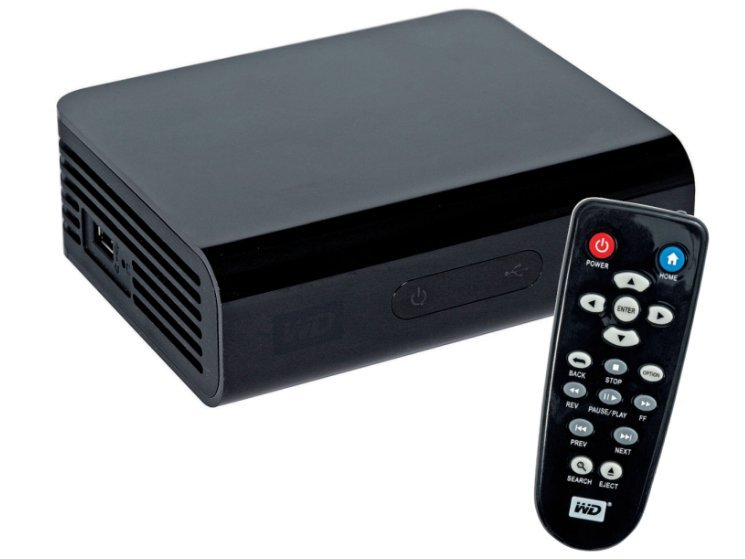 Test: Western Digital TV HD Media Player - AUDIO VIDEO FOTO BILD
