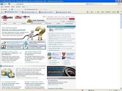 Internet Explorer 8: Internet Browser