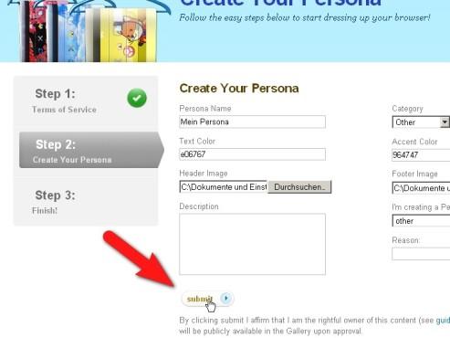 Personas: Firefox-Hintergrund zum Selbermachen