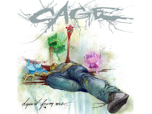CD-Cover: Cage – Depart From Me