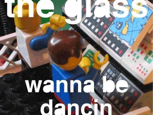 CD-Cover: The Glass – I Wanna Be Dancin'