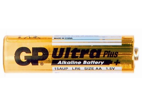 GP Batteries Ultra Alkaline 4x AA / LR6: Batterie