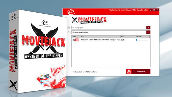 Multimedia: MovieJack - Kostenlose Vollversion ©COMPUTER BILD