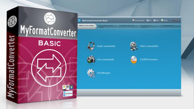 Multimedia: MyFormatConverter Basic – Kostenlose Vollversion ©istock.com/eugenesergeev