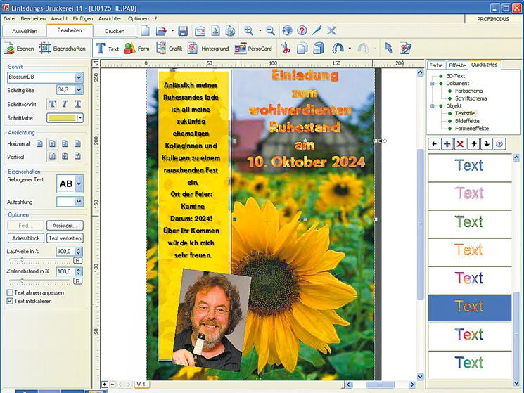 Test Data Becker Einladungs Druckerei 11 Computer Bild