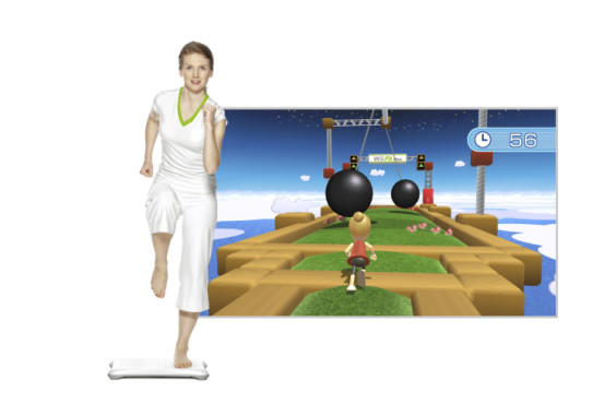 Sportspiel Wii Fit Plus: Hindernisrennen