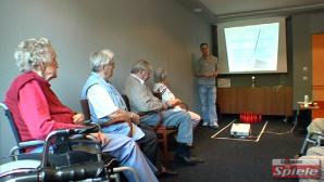 Senioren-Bowling mit der Wii