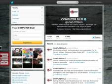 Schritt f�r Schritt: So twittern Sie wie die Profis Auch  zwitschert bei Twitter mit. ©COMPUTER BILD