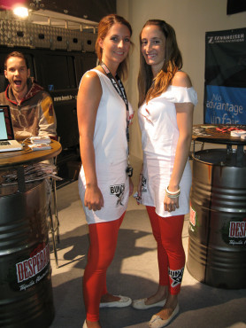 Messe-Babes - Gamescom 2009: Desperados