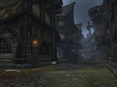 World of Warcraft Add-on Cataclysm: Gilneas - City Streets © Blizzard