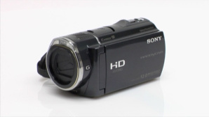 Sony HDR-CX520VE: Camcorder-Neuheit