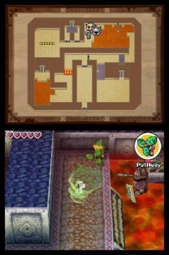 Abenteuerspiel The Legend of Zelda – Spirit Tracks: Dungeon