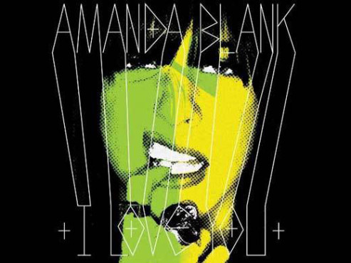 CD-Cover: Amanda Blank – I Love You