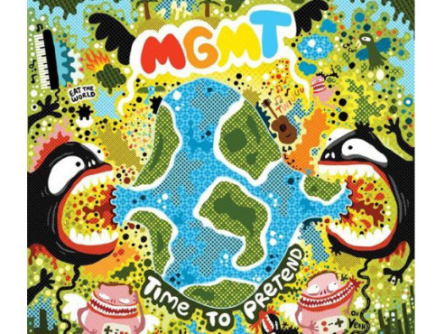 CD-Cover: MGMT – Time to Pretend