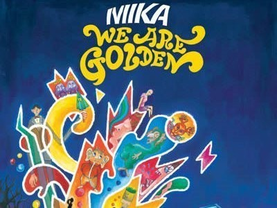 CD-Cover: Mika – We Are Golden