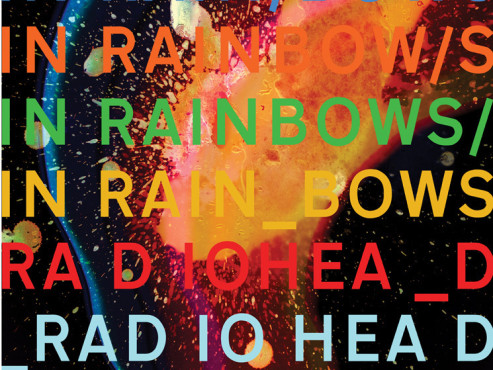 CD-Cover: Radiohead – In Rainbows