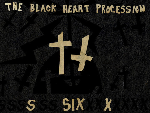 CD-Cover: The Black Heart Procession � Six